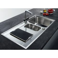 Evier de cuisine Franke Maris 251 INOX ET MICRODEKOR® 1000*510mm