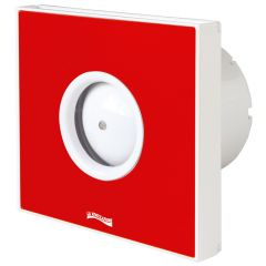 Extracteur d'air helicoidal GIOTTO Rouge