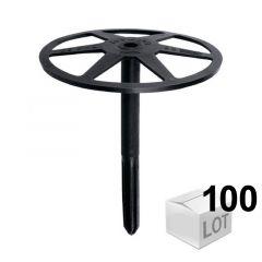 100 Fixations DHK pour isolant souple ou résistant - 3 modèles - Fischer