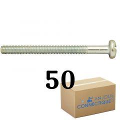 Vis à métaux pour cheville métallique HM - Boîte de 50