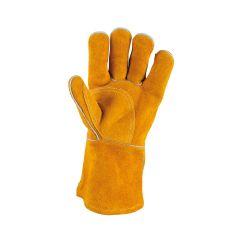 Gants de protection courts en cuir pour soudeur KS Tools