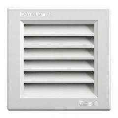 Grille ventilation PVC traditionnelle 140x140mm - A encastrer