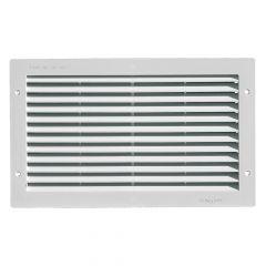 Grille ventilation rectangulaire PVC 380 x 230 mm à encastrer