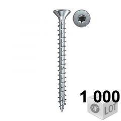 1000 Vis VBA zingué blanc Power-Fast TX20 Ø4x40mm