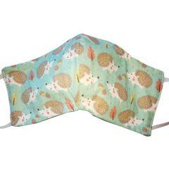 Masque de protection en coton lavable Herisson