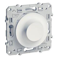 Variateur 2 fils pour tranformateur électronique 420W ODACE Blanc - S520515
