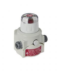 Inverseur Propane NF avec limiteur et indicateur - 4.0kg/h - 1.5b - M20x150