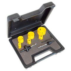 Jeu de 6 scies cloches C.K. + outils pour électricien 424045