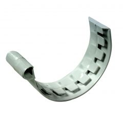 Jonction PVC 25 demi-ronde