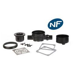 Siphon de sol Rotaflux NF sortie horizontale - Lazer