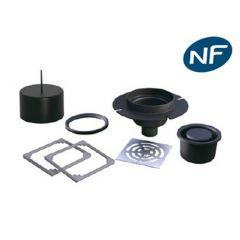 Siphon de sol Rotaflux NF sortie verticale sans évacuation secondaire - Lazer
