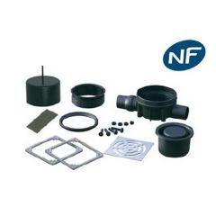 Siphon de sol Rotaflux NF à verrouillage sortie horizontale - Lazer