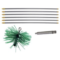 Kit de ramonage - 8 pcs KS Tools 900.6000