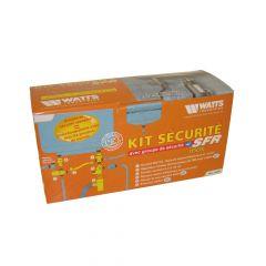 Kit de sécurité chauffe-eau Inox NF Ø3/4