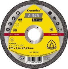 Disques à tronçonner, Type A 346 EX, 115X1,6X22,23 - Klingspor