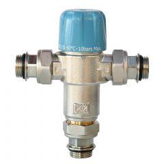 """Limiteur thermostatique réglable SECURMIX pour chauffe-eau Mâle 3/4"""" (20/27)"""
