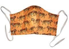 Masque de protection en coton lavable Tigre