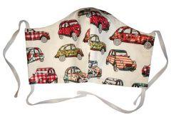 Masque de protection en coton lavable Dedeuche