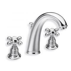 Robinet mélangeur lavabo 3 trous PARIGI Chromé - Cristina Ondyna PG11351