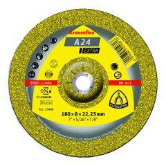 Meule à ébarber Ø230mm A 24 EX pour métal - Klingspor 13447