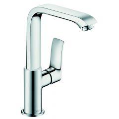 Mitigeur lavabo Metris 230 Bec haut orientable 120° Hansgrohe 31087000