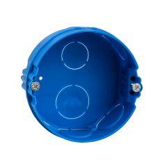Boîte à sceller ronde Modulo - 1 poste - 67 mm prof. 30 mm - ALB71360