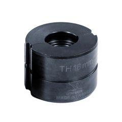 Mors TH 16mm pour pince à sertir manuelle