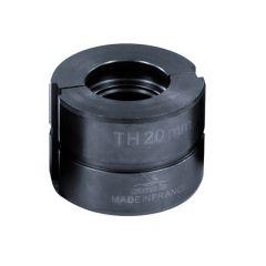 Mors TH 20mm pour pince à sertir manuelle