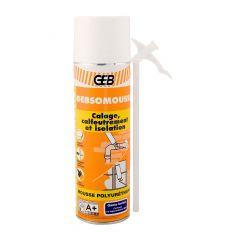 Carton de 12 aérosols mousse polyuréthane 500ml + gants - GEBSOMOUSSE