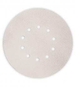 Paquet de 12 abrasifs argent perforés MOUSSFLEX Ø225mm - grain 100 - pour Giraffe - Flex