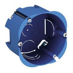 Boîte d'encastrement cloison creuse Ø85x50mm - 1 poste - ALB71385