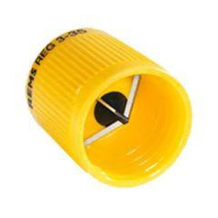 Ébavureur extérieur intérieur pour tube cuivre, laiton, alu, acier, plastique Ø3-35 mm - Rems