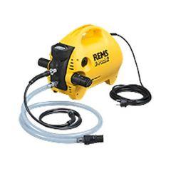 Pompe d'épreuve électrique REMS E-Push 2 - 6,5L/min