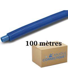 Tube PER BAO Prégainé Ø16 Bleu - 100 mètres - Barbi Blansol