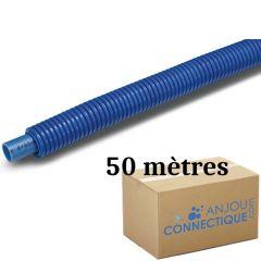 Tube PER BAO Prégainé Ø20 Bleu - 50 mètres - Barbi Blansol