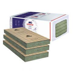 6 paquets de 7 panneaux laine de verre URSA PRK 32 TERRA revêtu kraft - Ep. 85mm - 34.02m² - R 2.65