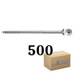 Boîte de 500 Vis Power-Fast FPF-II-CTP Ø6,0x40, tête fraisée TX, filetage partiel - Fischer