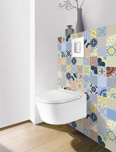 Panneau mural Decofast - Vintage - pour habillage Bâti-support - 1500 x 1200 x 3 mm - Patchwork color - Lazer