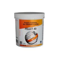 PELLET A9 Produit entretien poêle et chaudière à pellet - Pot de 3 x 40g