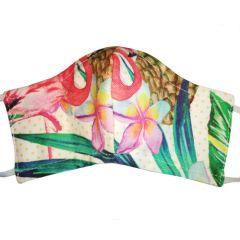 Masque de protection en coton lavable Perroquet