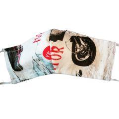 Masque de protection en coton lavable Scooter