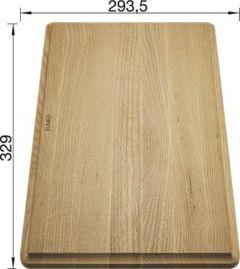 Planche à découper en frêne massif - Blanco