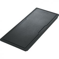 Planche à découper en PVC noir - 429 x 180 x 24 mm - Franke