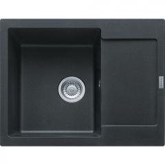 Évier de cuisine Maris Fragranit+ MRG611-62 - 620 x 500 x 205 mm - Onyx - Sous-meuble 45 cm - Franke