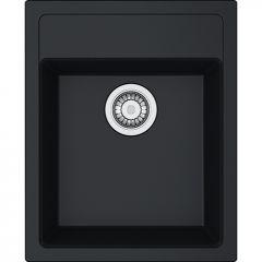 Évier de cuisine Sirius 2 Tectonite SID610-43 - Sous-meuble 45 cm - 430 x 530 x 200 mm - Carbone - Franke