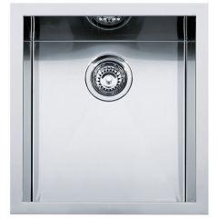 Cuve carrée Planar PPX 110-38 Inox - 420x450x200 mm - Sous meuble 50 cm - Franke