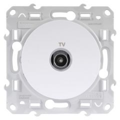 Prise TV ODACE blanc à vis - S520445