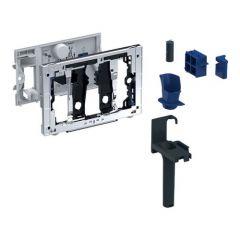 Tiroir pour stick de nettoyage Geberit DuoFresh, pour réservoir à encastrer Sigma 12 cm, Chromé brillant - Geberit