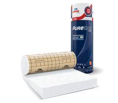 Rouleau de laine de verre PURE 40RP revêtu kraft 3m²12 - 300mm - R 7.50