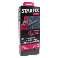 """Sortie de cloison STARFIX PER Ø12 Raccords à Sertir - Femelle 1/2"""" (15/21) pour robinetterie entraxe 150 mm"""